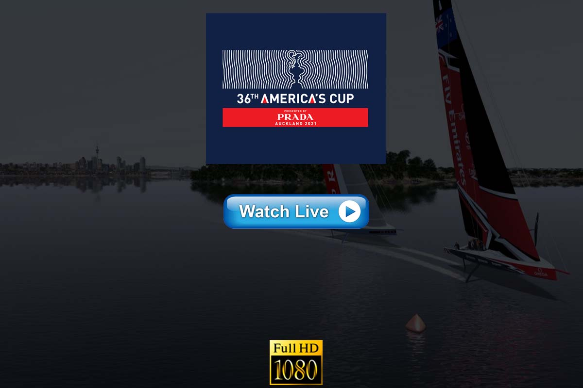2021 America's Cup live streaming