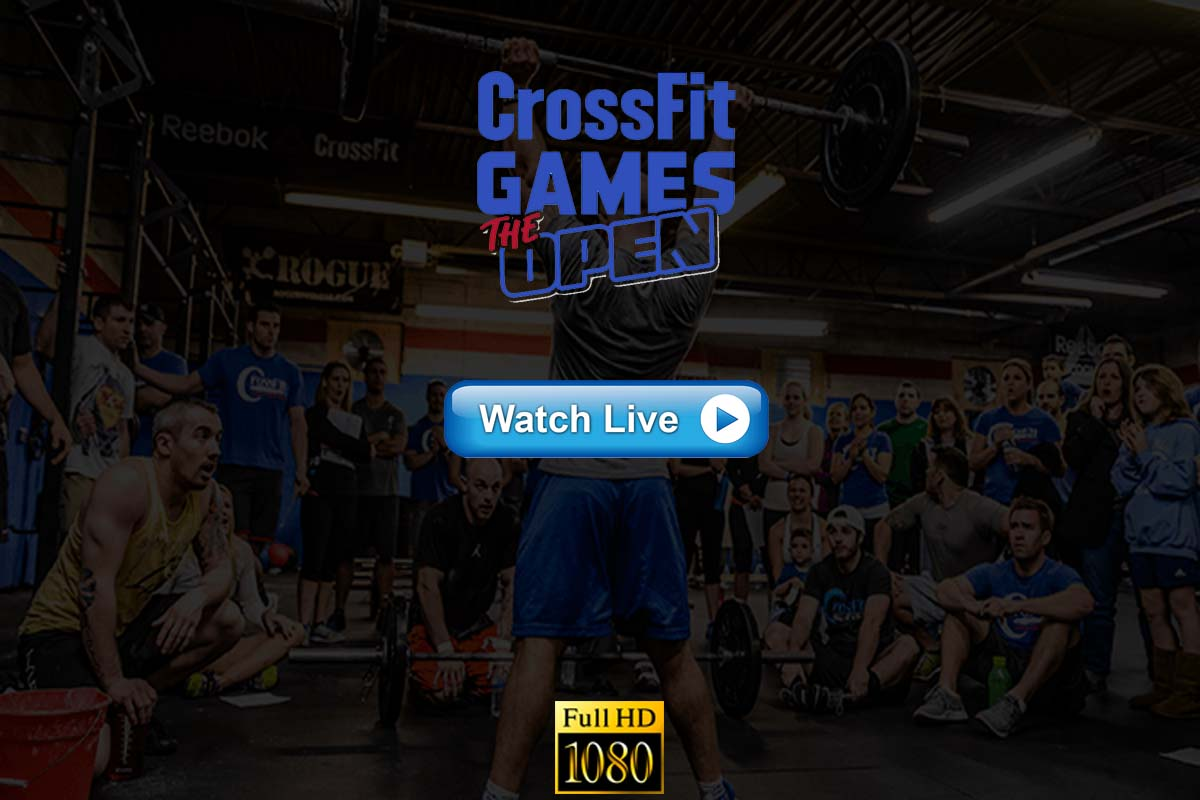CrossFit Open 2021 live streaming