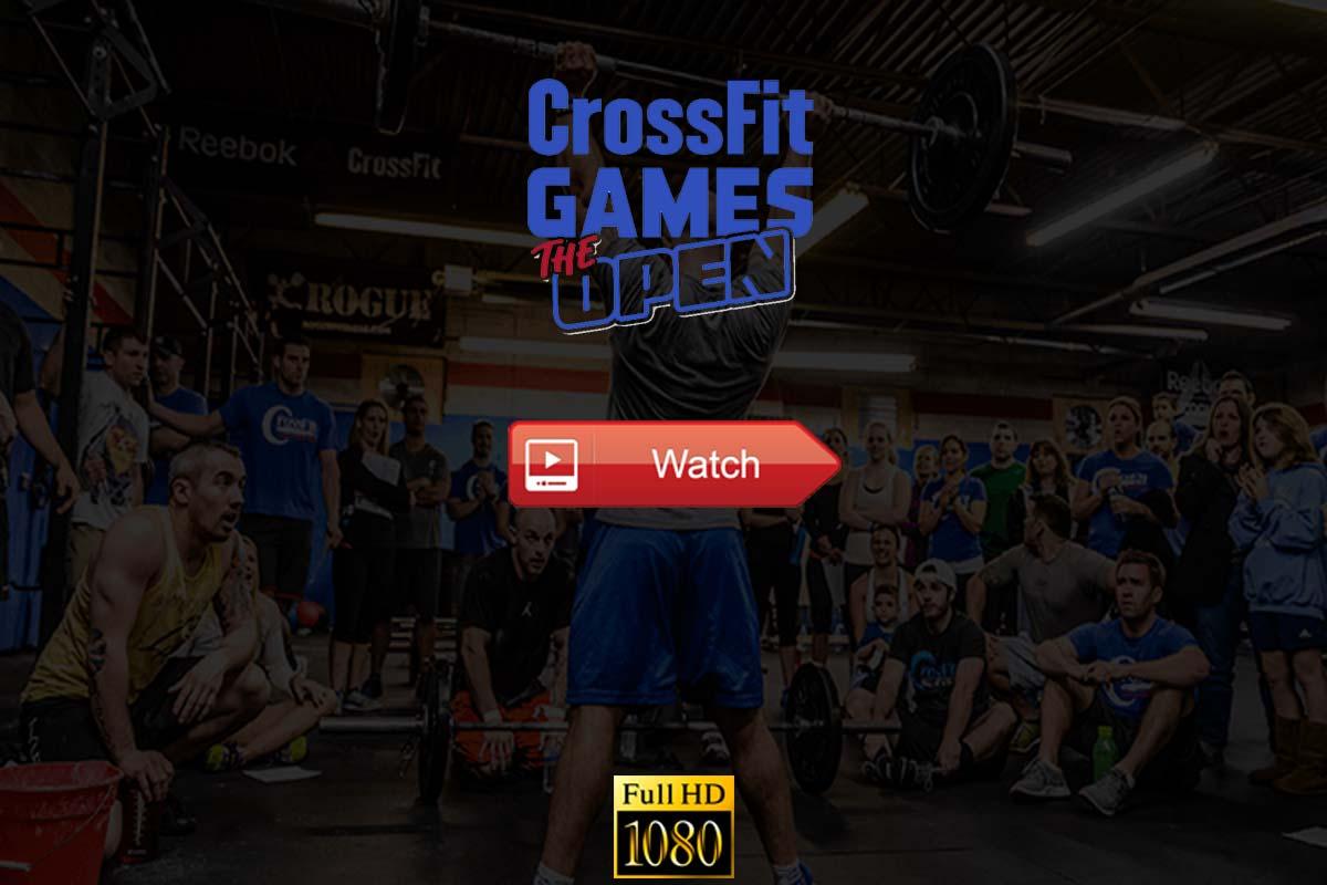 CrossFit Open Live Stream