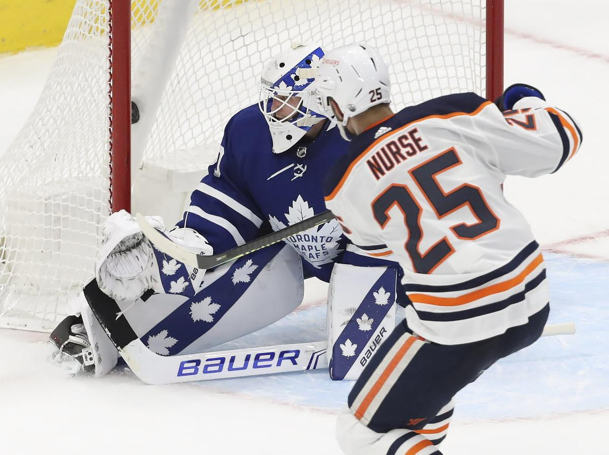 Oilers Get Depth Contributions As They Finally Beat Leafs