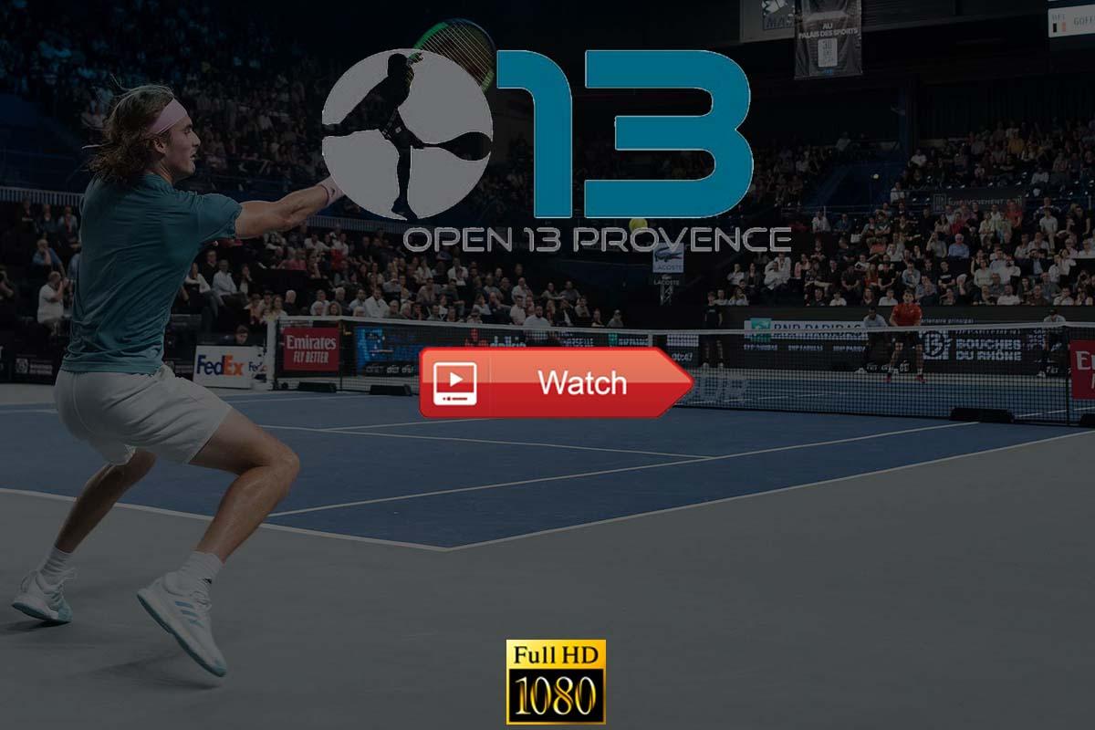 Marseille: Open 13 Tennis Live Streaming Reddit Free Online