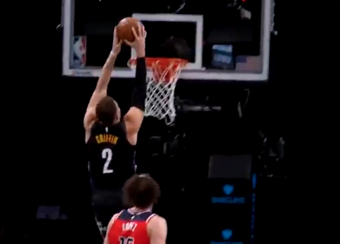Look: Blake Griffin's first dunk since 2019 is a beautiful sight