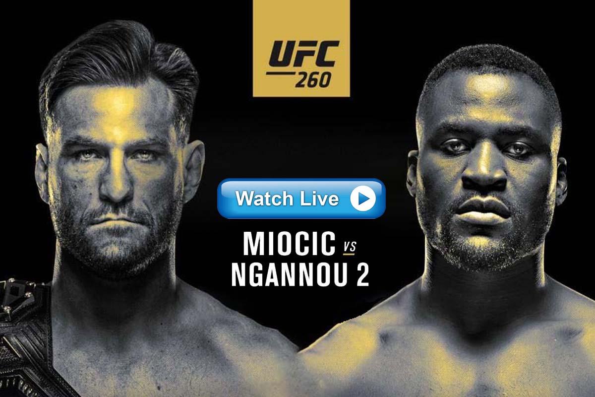 UFC 260 Reddit