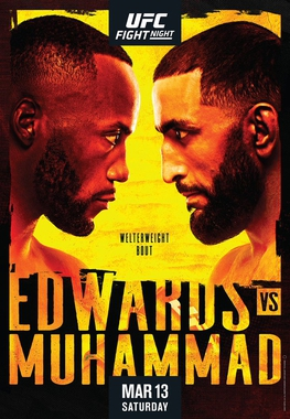 UFC Fight Night: Edwards vs Muhammad Fighter Salaries & Incentive Pay