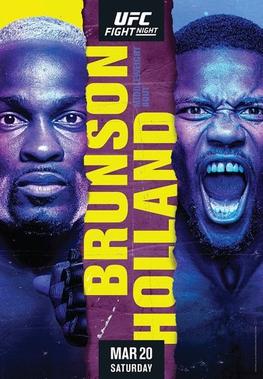 UFC Fight Night: Brunson vs Holland Fight Card