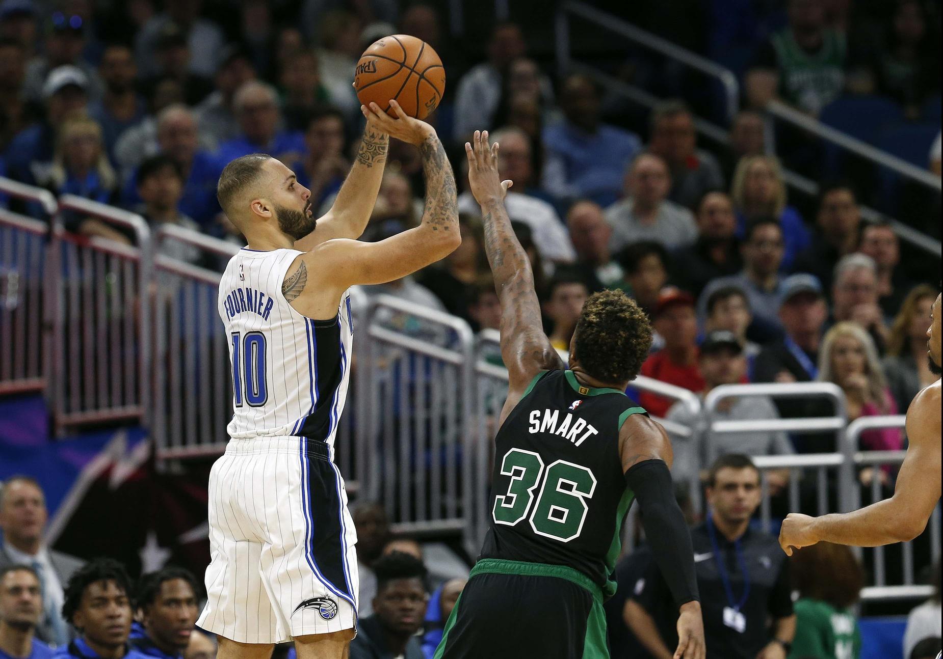 Reports: Celtics frontrunners for Gordon; Smart for Fournier?