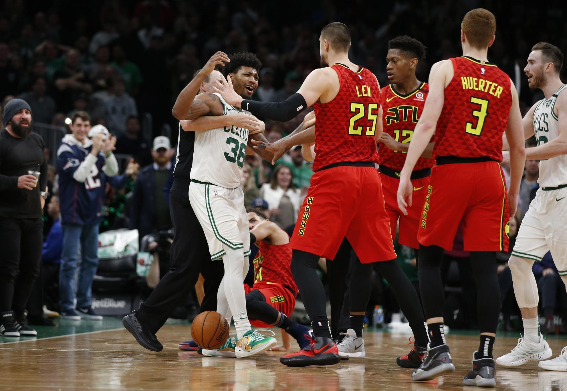 Report: Hawks interested in Marcus Smart, Celtics eyeing Magic's Fournier