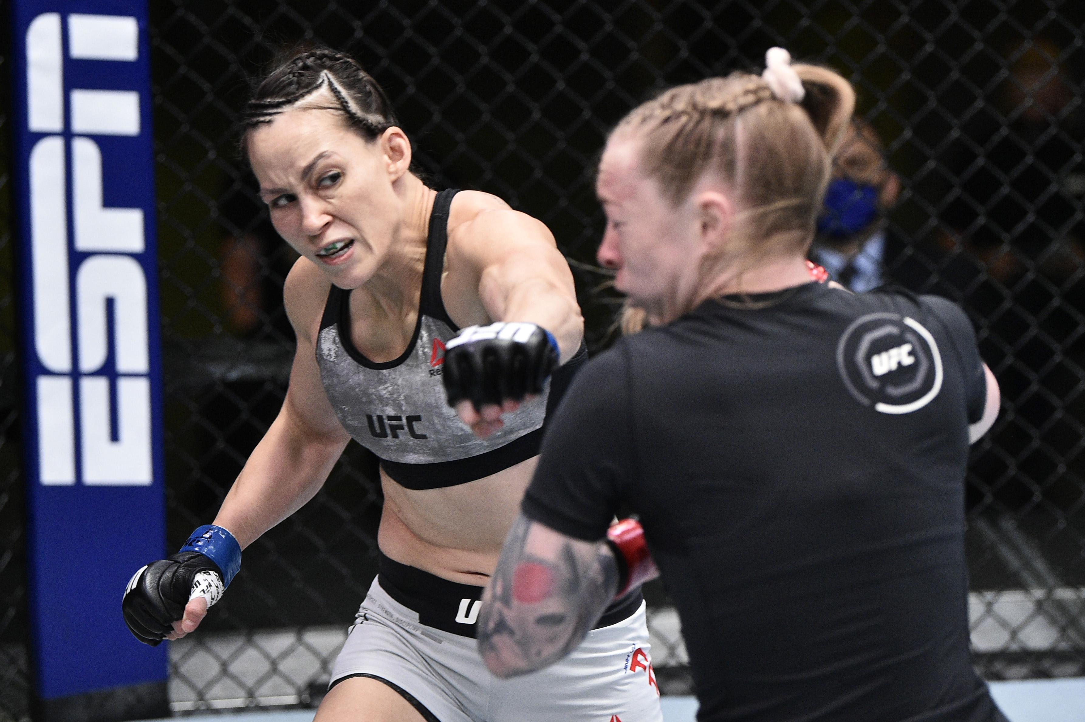 The Livest Dog at UFC Edwards vs Muhammad: Jinh Yu Frey