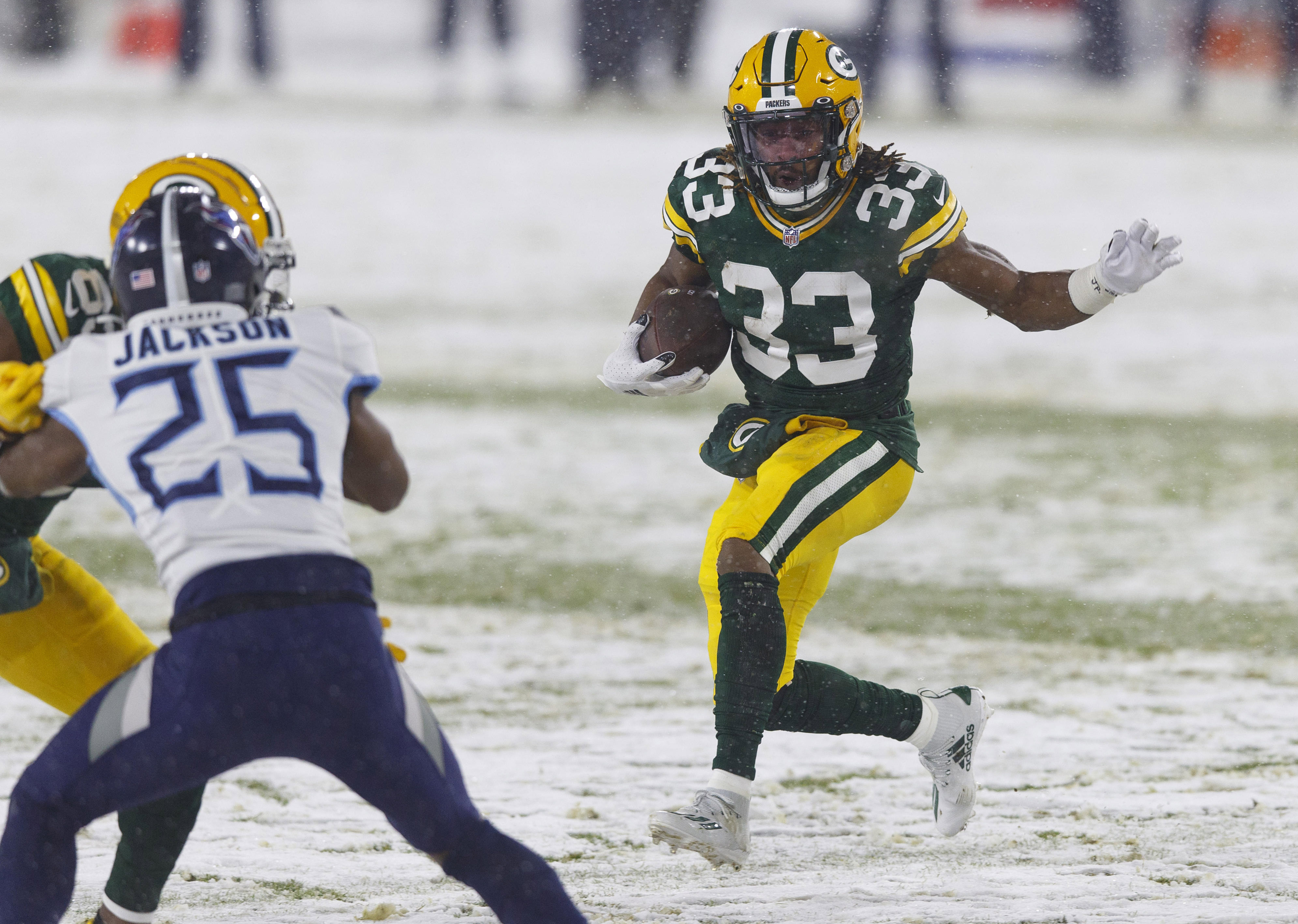 Five Things We Learned From the Packers Signing RB Aaron Jones