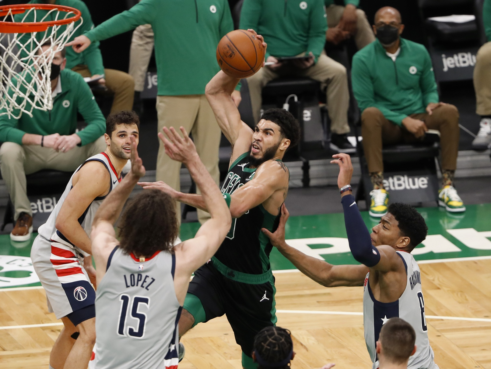 Your Morning Dump... Where Jayson Tatum satisfied all those grumpy old-timers