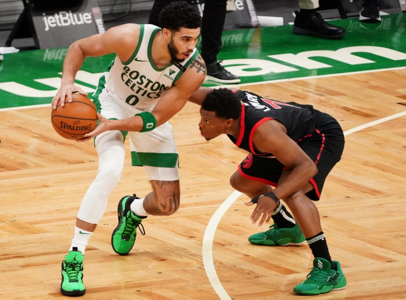 Rapid Recap: Celtics beat Raptors in shootout for 4th straight win