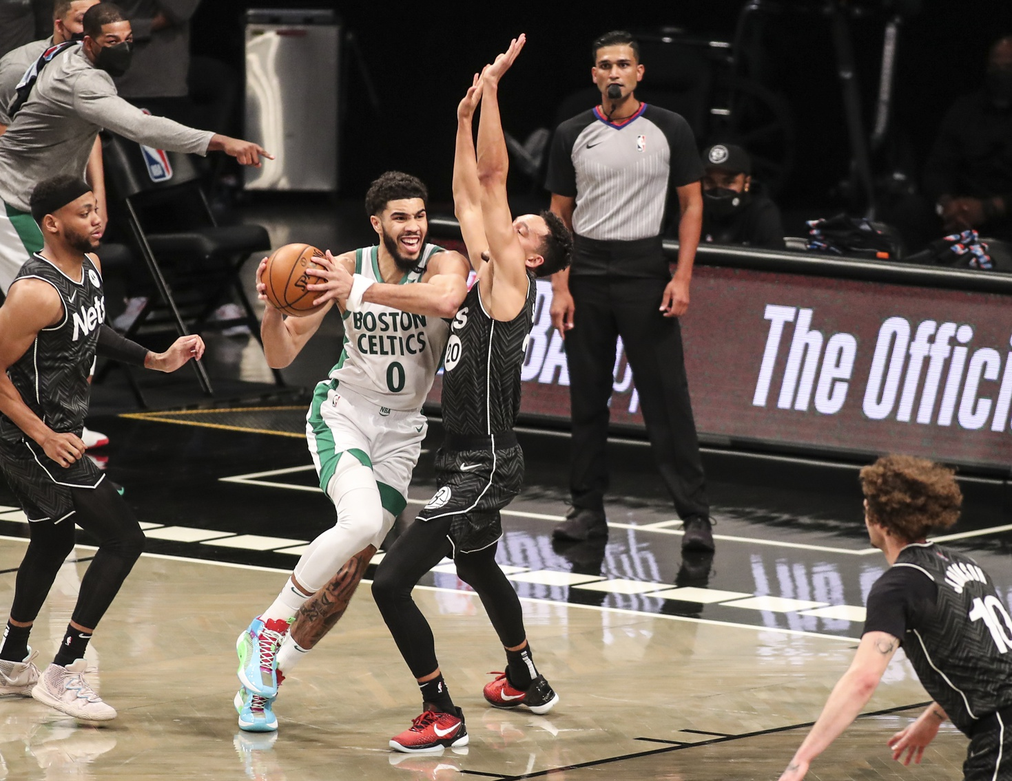 Your Morning Dump... Where the C's came up short against the Nets