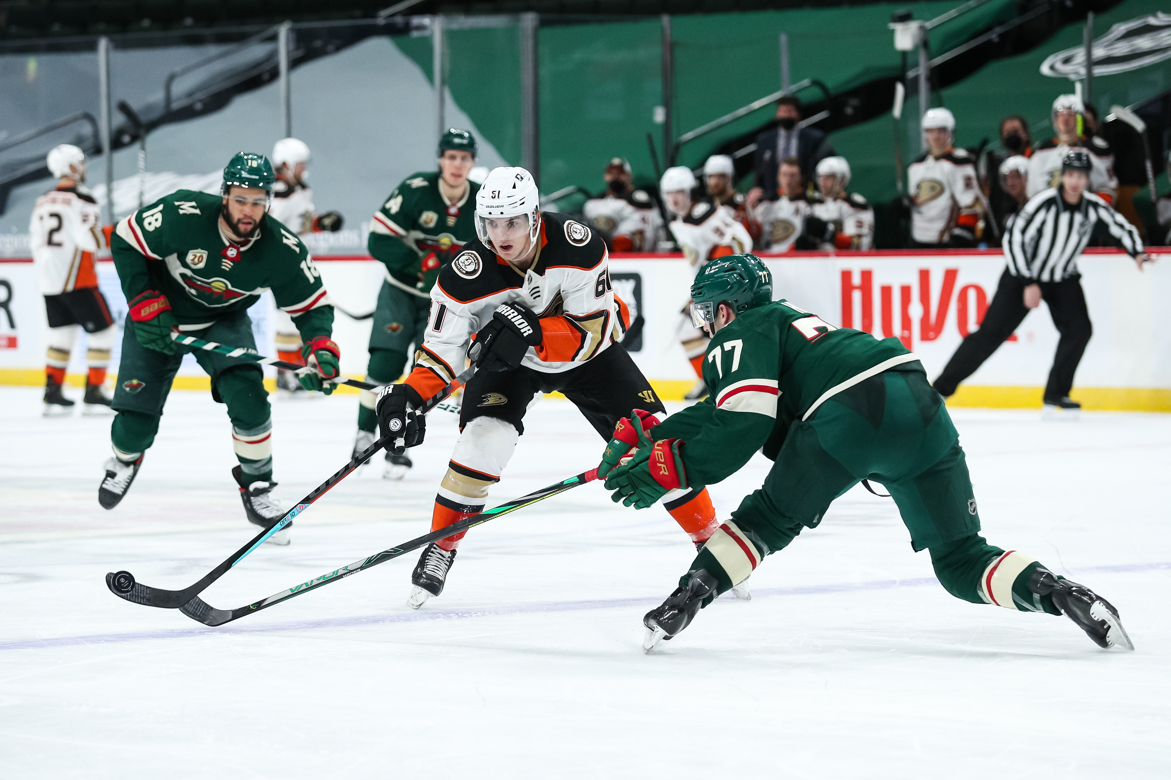 Game Preview: Minnesota Wild vs. Anaheim Ducks 3/24/21 @ 4:30PM at Xcel Energy Center