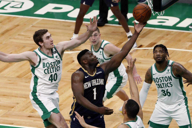 Rapid Recap: Celtics no match for Zion's bully ball, hot shooting Pels