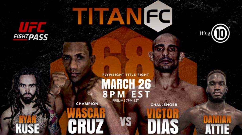 Titan FC 68 Fighter Salaries