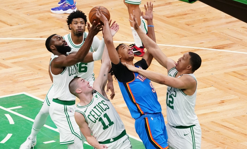 Rapid Recap: Celtics hit rock bottom as OKC snaps 14-game losing streak