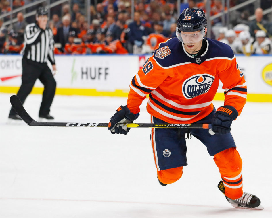 Alex Chiasson Believes Oilers Are Evolving as a Group