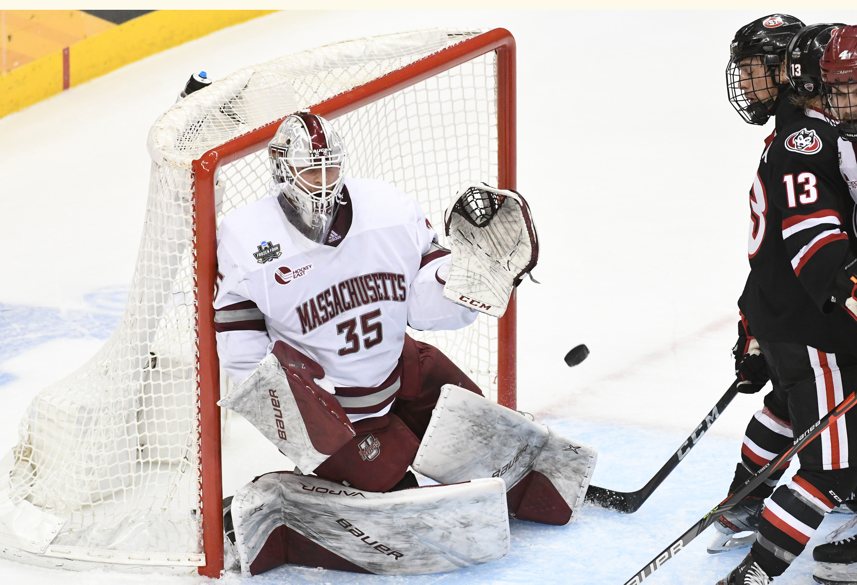 University of Massachusetts wins their first NCAA Men's Hockey Championship