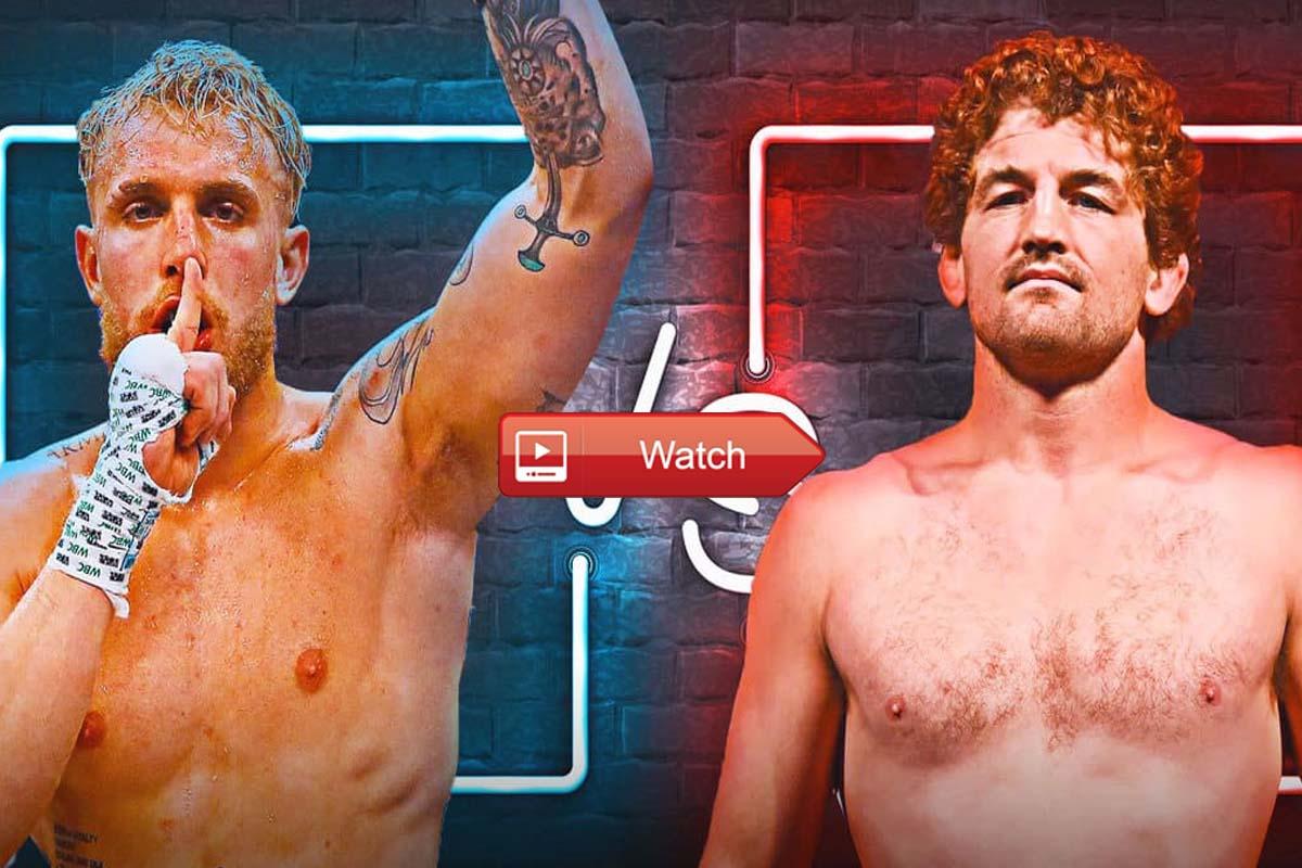 Youtuber Jake Paul Vs Mma Fighter Ben Askren Live Streaming 2021 Reddit Buffstreams The Sports Daily