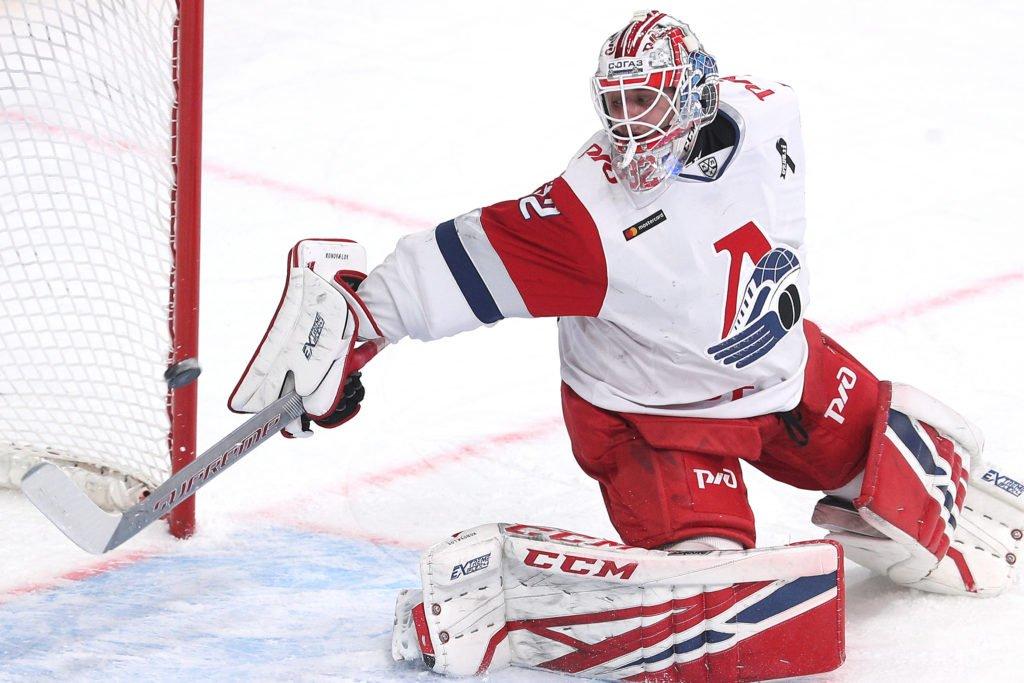 Edmonton Oilers Sign G Ilya Konovalov
