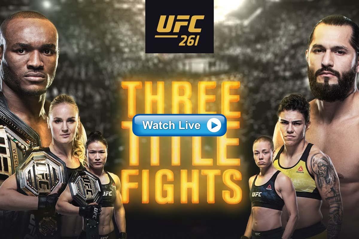 UFC 261 Reddit