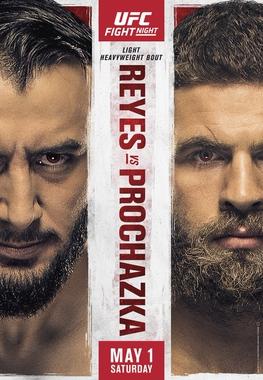 UFC Fight Night: Reyes vs Prochazka Fighter Salaries & Incentive Pay