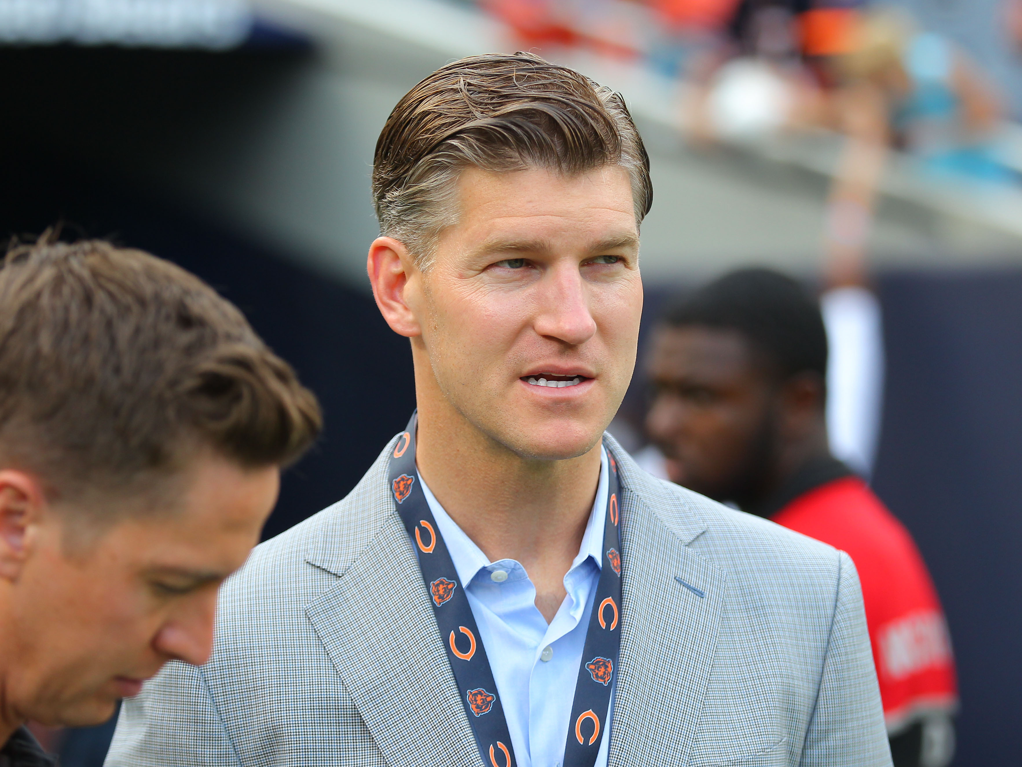 Bears GM Ryan Pace attempts to explain Andy Dalton signing