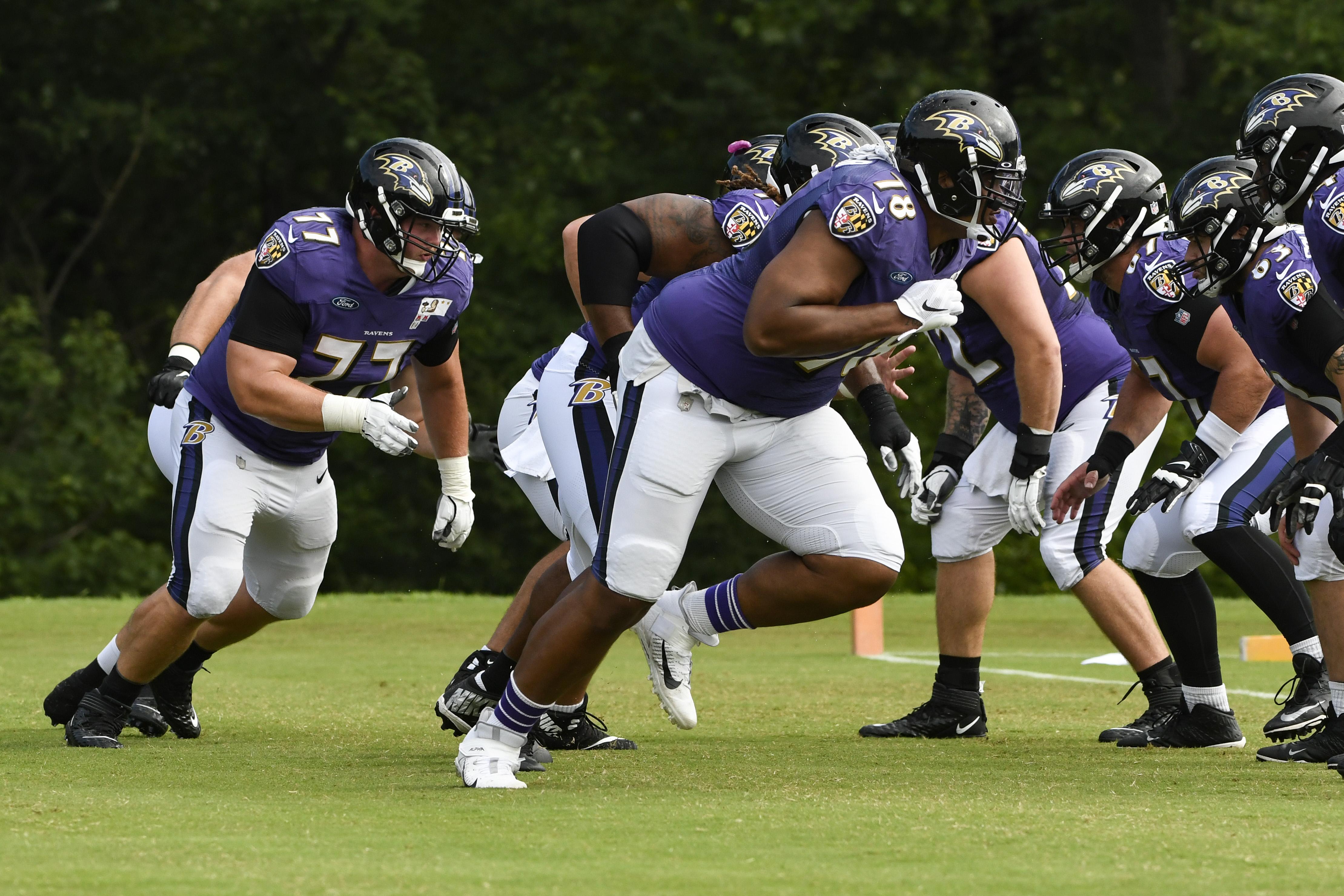 Ravens juggle key injuries against 53-man roster