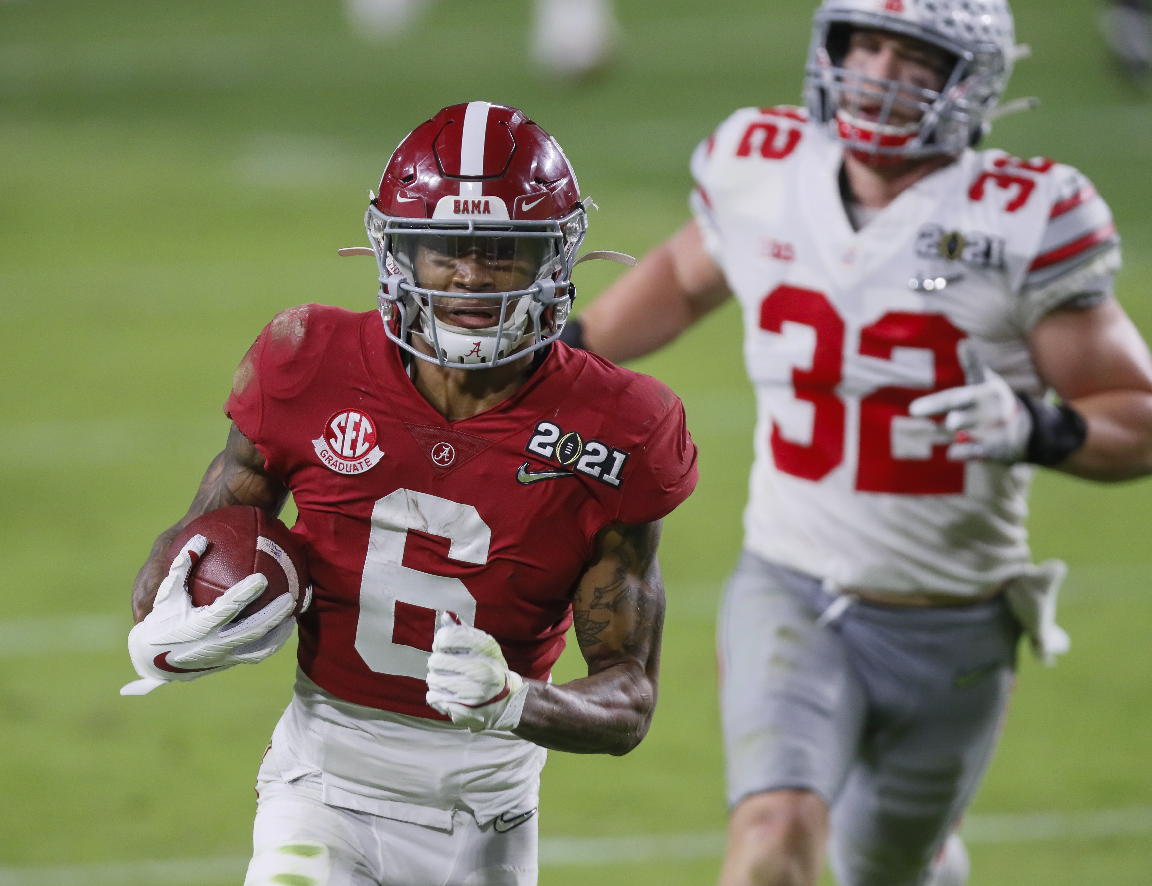 2021 NFL Mock Draft 2.0: Eagles upgrade wide receiver unit in first round