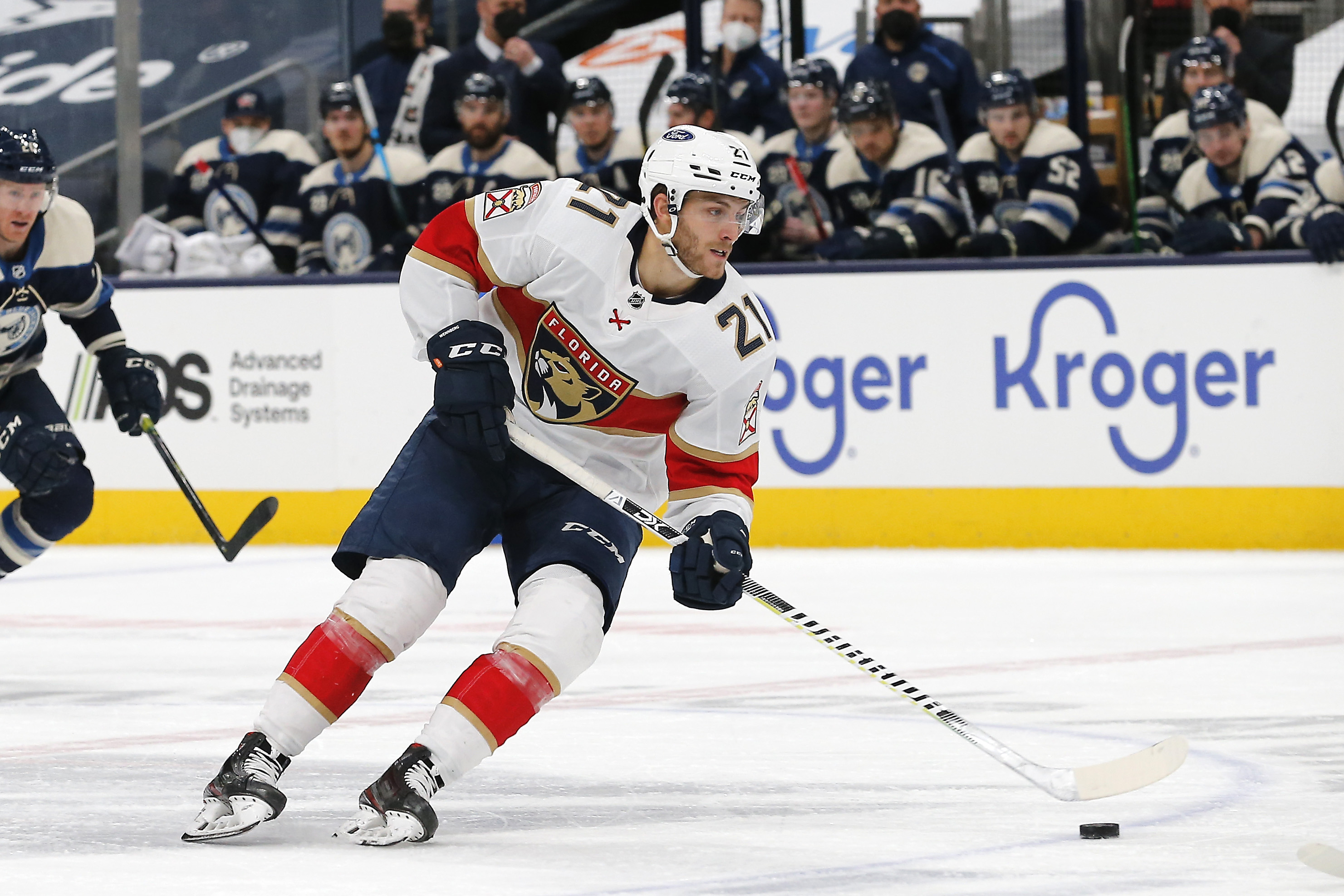 Alexander Wennberg notches second career NHL hat trick