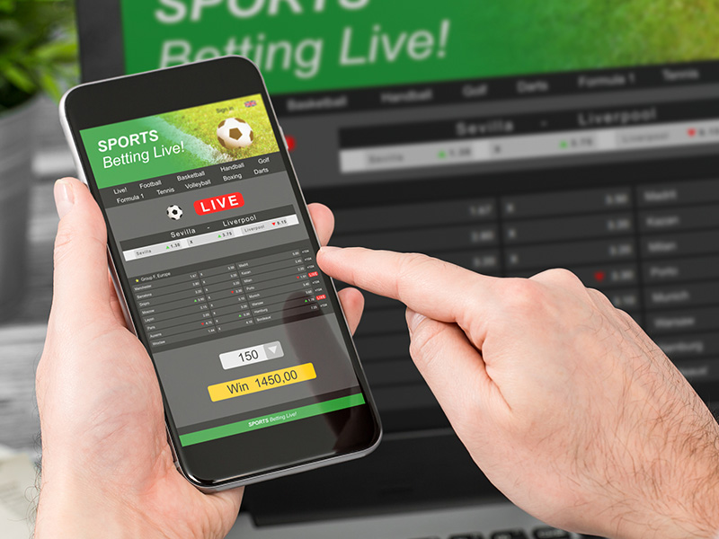 What are the drawbacks of betting on sports on the go?