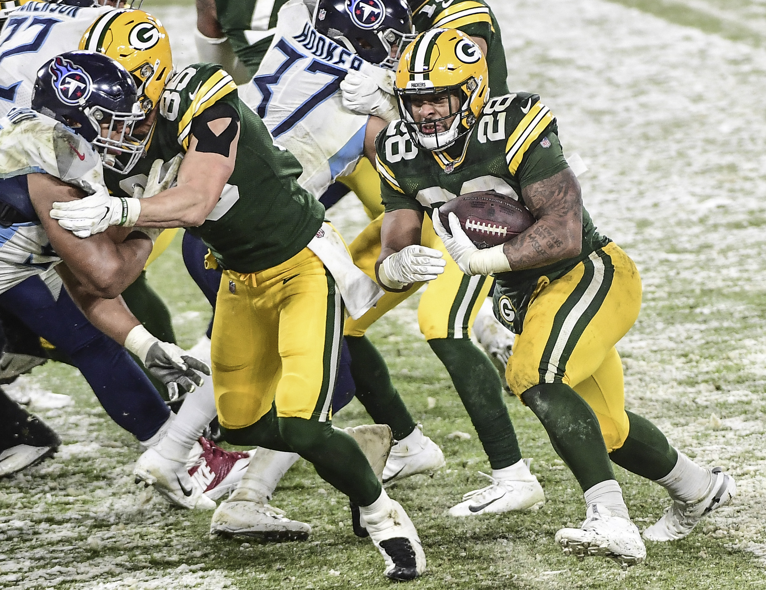 What Will A.J. Dillon's Role Be in the Packers Offense in 2021?