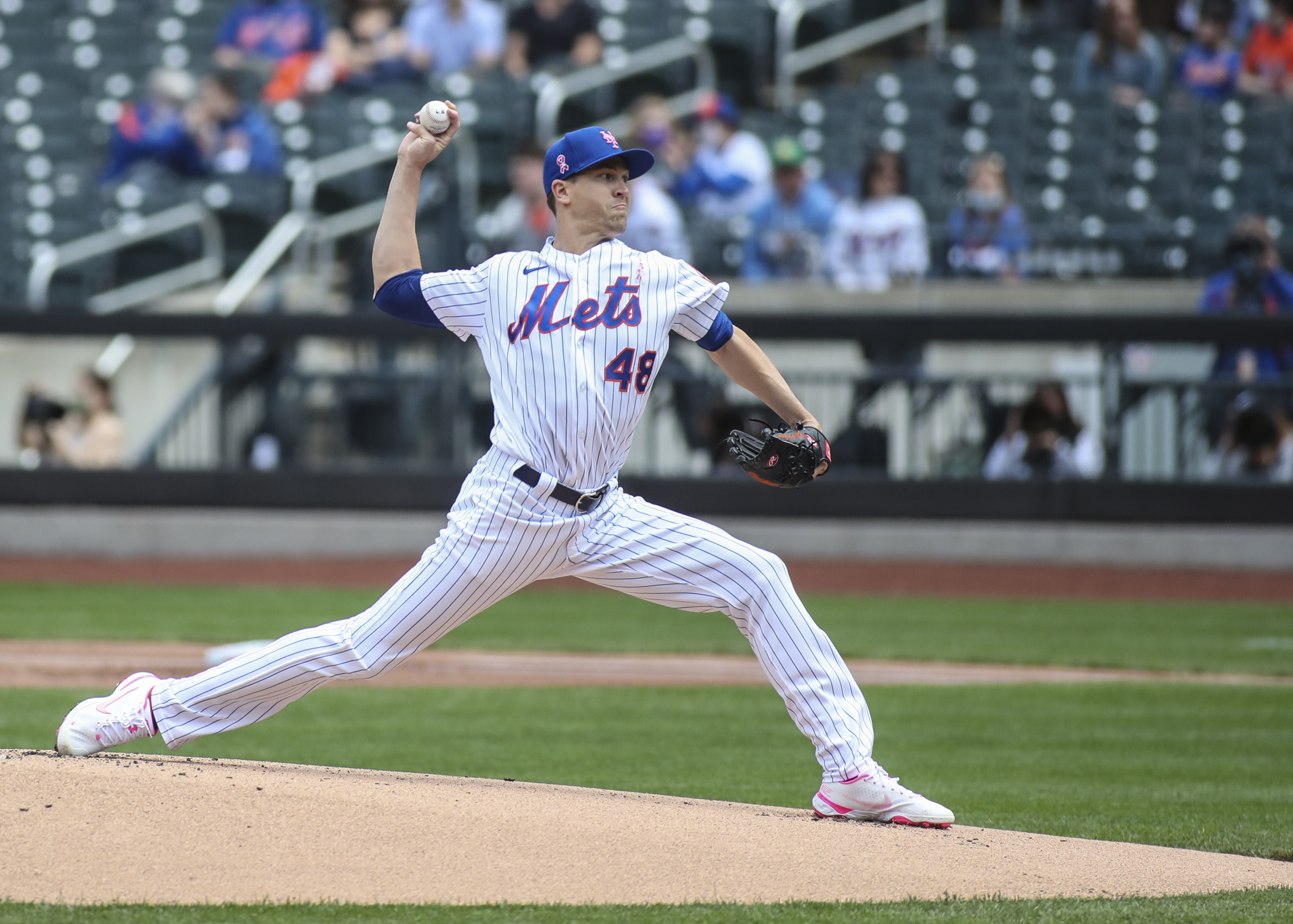 New York Mets receive good news about Jacob deGrom