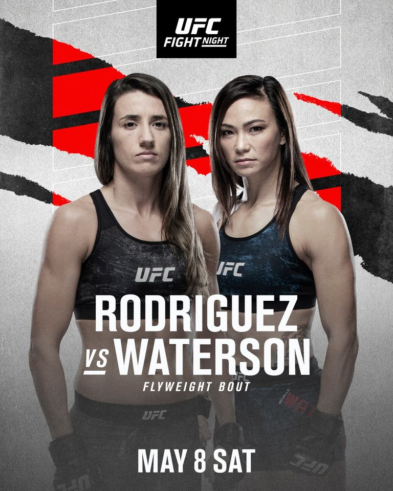 UFC Fight Night: Rodriguez vs Waterson Fighter Salaries