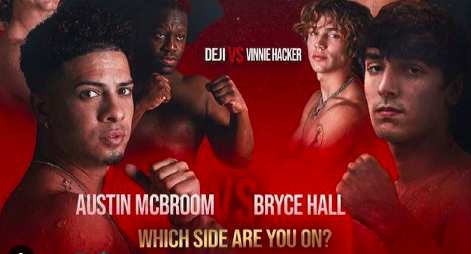 Boxing Crackstreams Watch YouTube vs. TikTok Bryce Hall vs. Austin McBroom Online Live Reddit Online