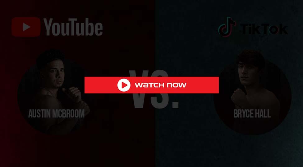Crackstreams Austin McBroom. vs. Bryce Hall Live Streaming 2021 Reddit/Buffstreams YouTube vs. TikTok
