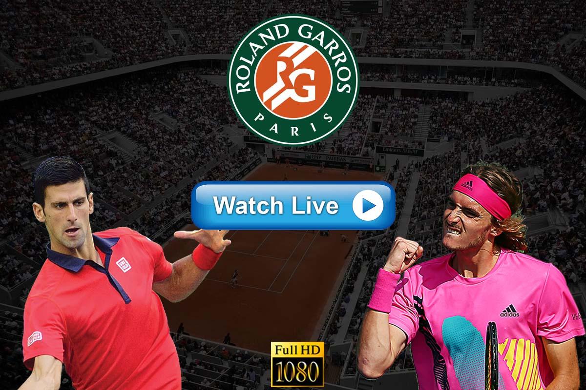 French Open final Crackstreams Djokovic vs Tsitsipas Live Stream Reddit: Watch Djokovic vs. Tsitsipas Buffstreams Youtube TV, Time, Date, Venue and Schedule