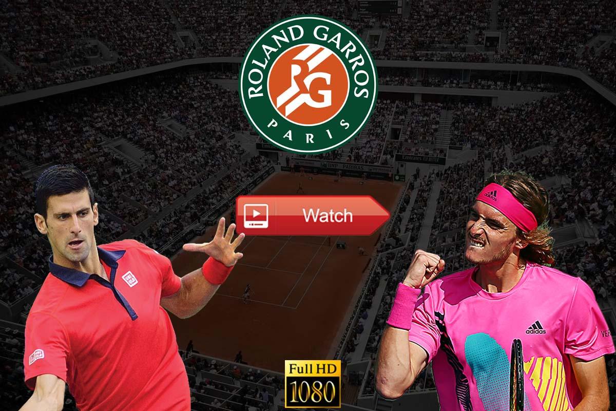 hd Crackstreams Novak Djokovic vs Stefanos Tsitsipas Reddit Live Stream Online - French Open Final