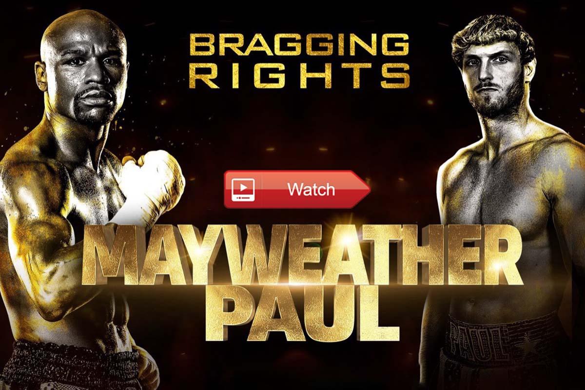Mayweather vs. Logan Paul live stream Reddit