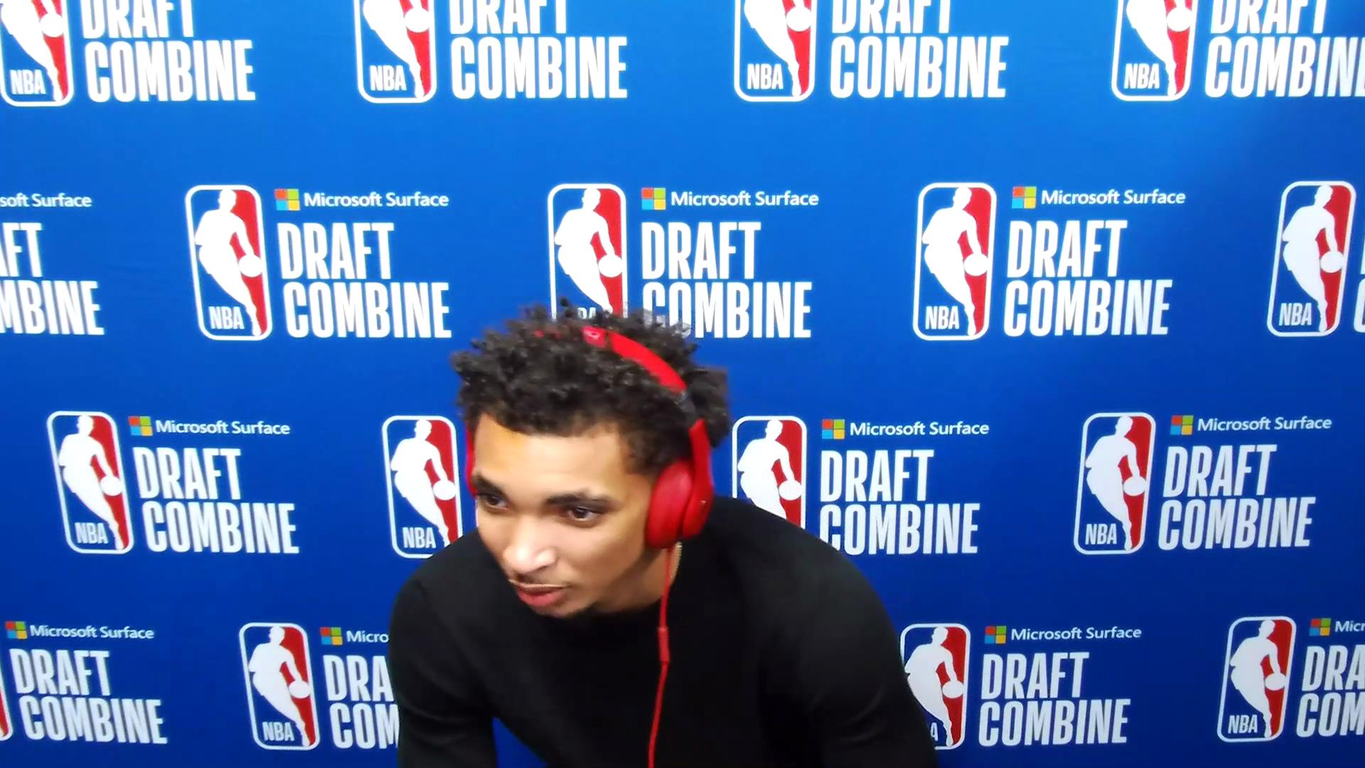 James Bouknight NBA Combine Zoom Interview
