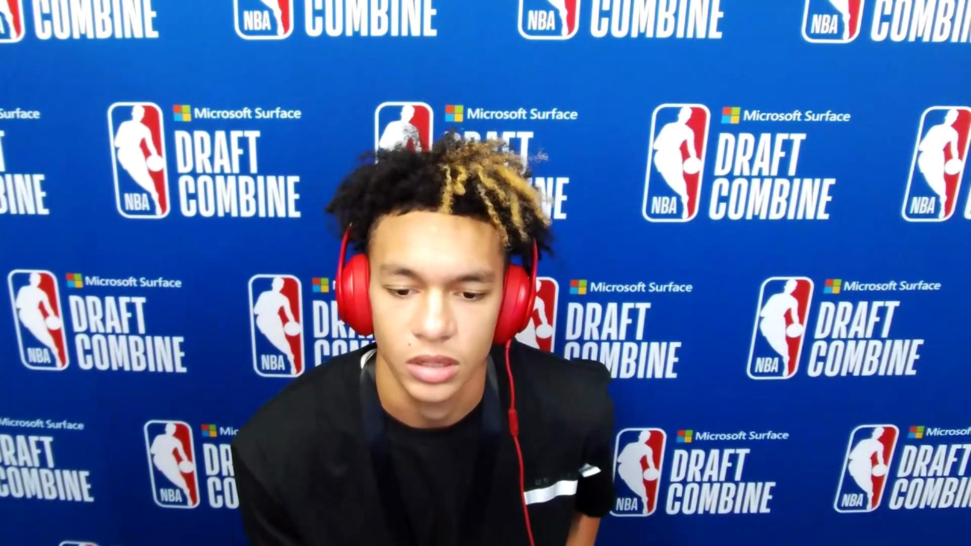 Tre Mann NBA Combine Zoom Interview