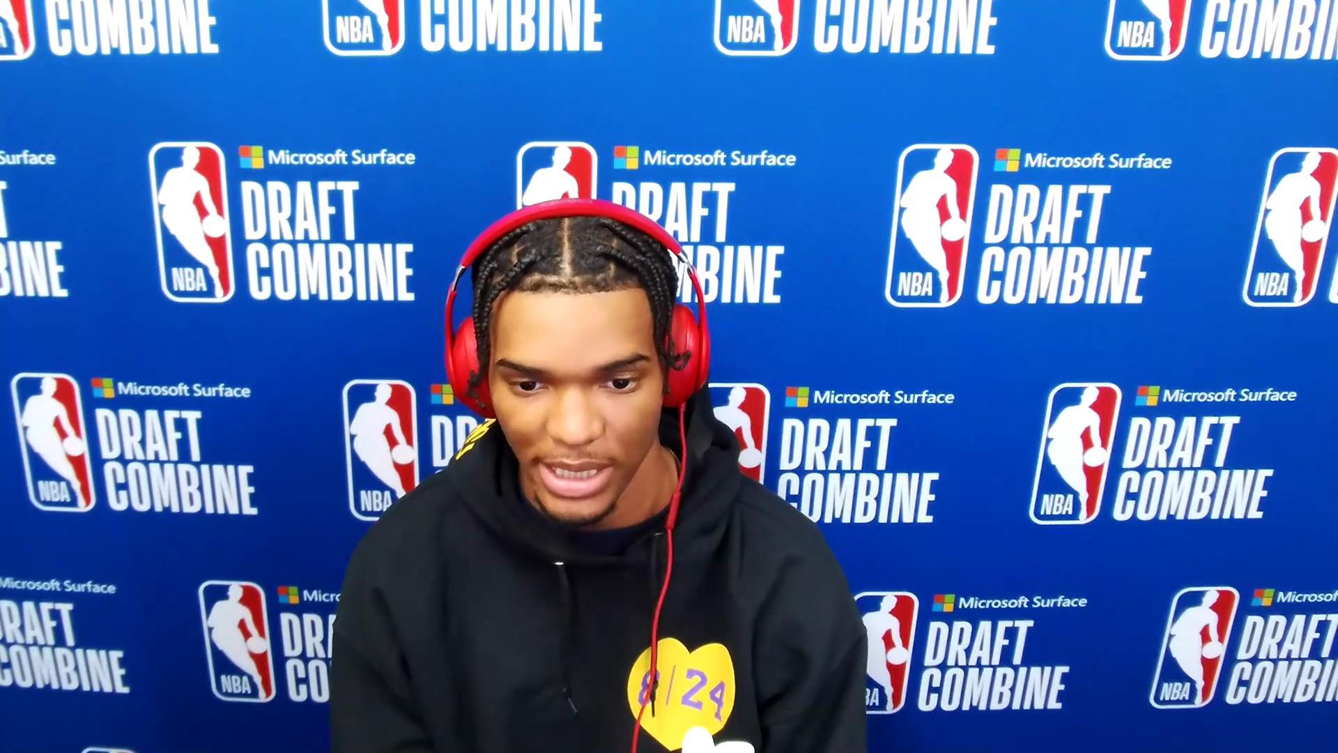 Ziaire Williams NBA Combine Zoom Interview