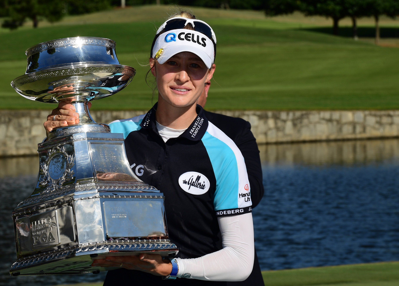 Nelly Korda wins 2021 Women's PGA Championship
