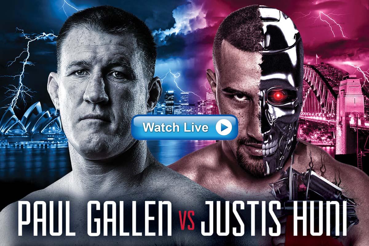 4k HD Crackstreams Watch Justis Huni vs Paul Gallen 2021 Live Stream Reddit Online Highlights