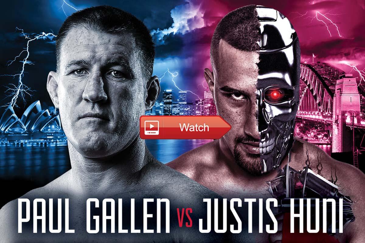 Paul Gallen vs Justis Huni Boxing Crackstreams Free - Watch Boxing Live Stream Reddit 2021