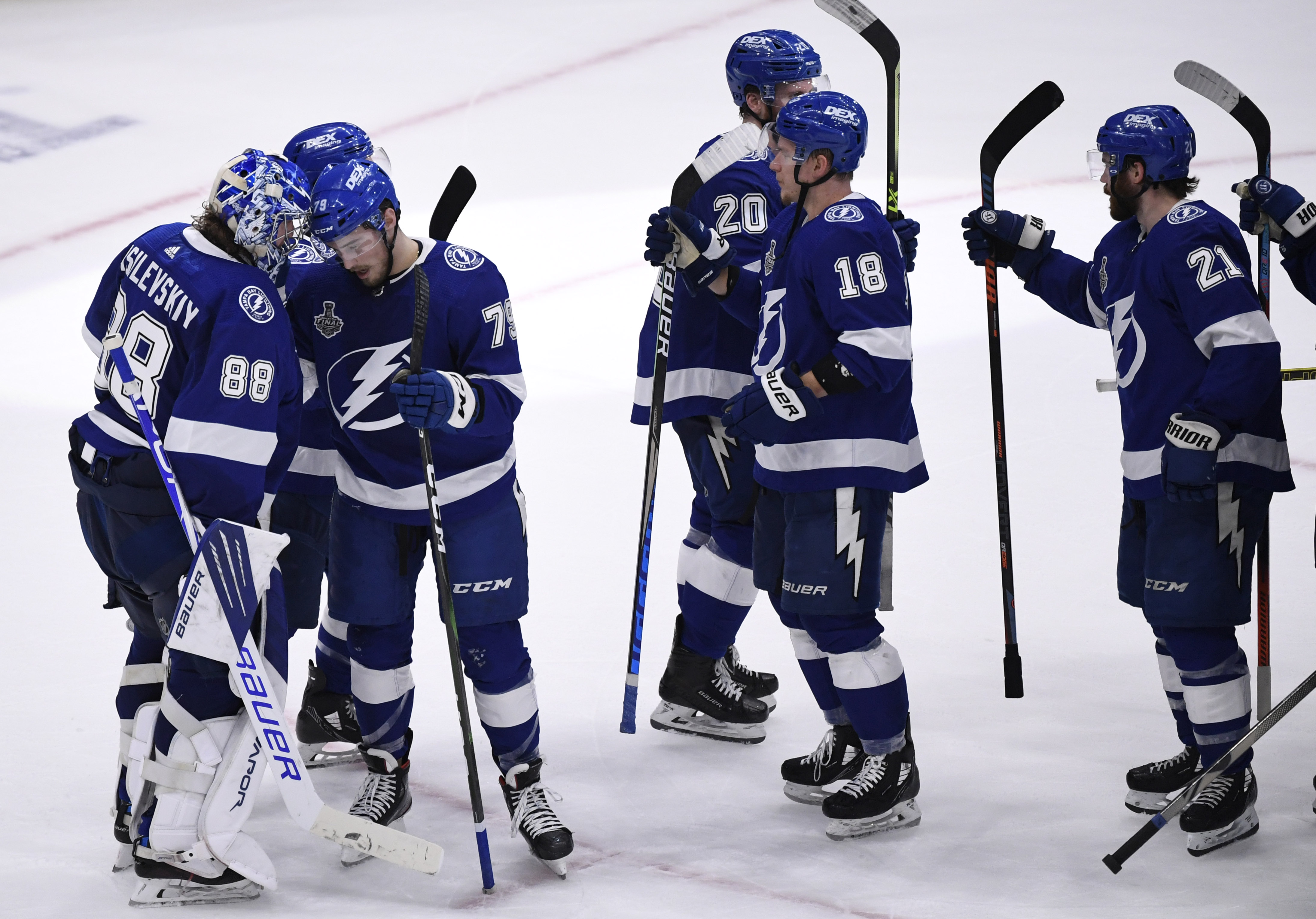 Lightning win game one of the 2021 Stanley Cup Final