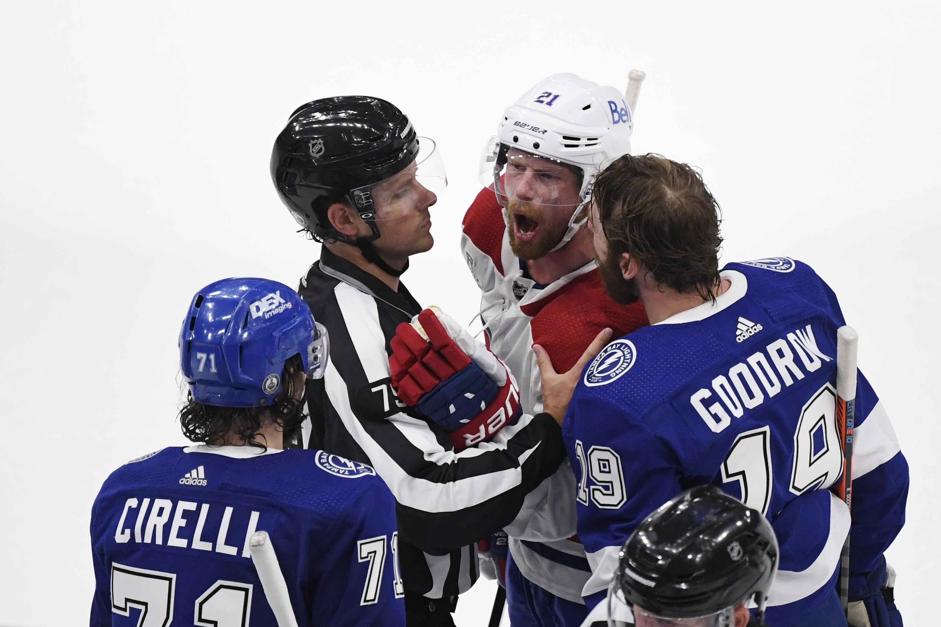 Montreal Canadiens versus Tampa Bay Lightning present unique Stanley Cup Finals