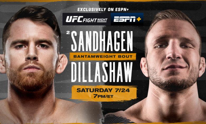 UFC on ESPN: Dillashaw vs. Sandhagen Picks