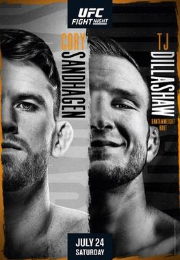 UFC Fight Night: Sandhagen vs Dillashaw Results