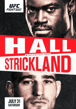 UFC Fight Night: Hall vs Strickland Fight Card